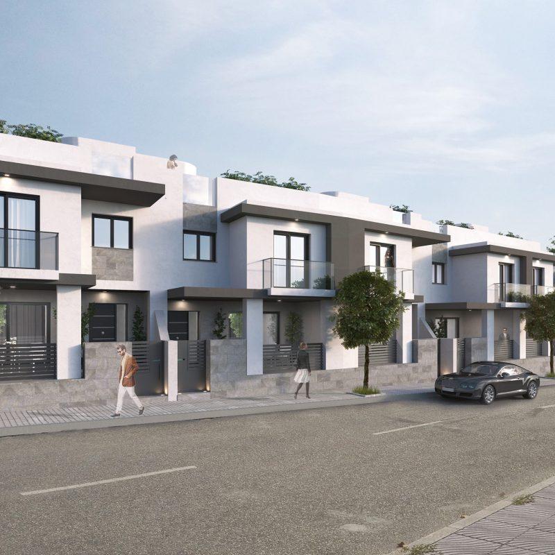 3d realizado para una Urbanización en Archidona.