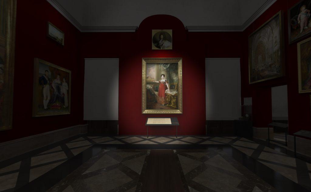 Trabajo de Gamificación realizado para el Museo del Prado. Contenido 3d realizado por Feeel.